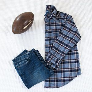 Northeast Outfitters Heavy Plaid Button Down